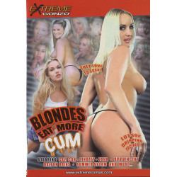 DVD-Blondes Eat More Cum