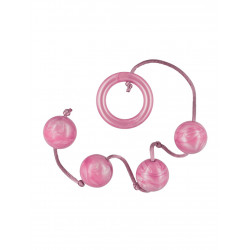 Kulki-PLEASURE PEARLS 4 PINK